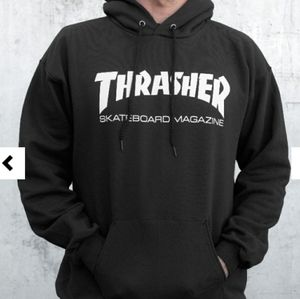 Thrasher Skate Mag Hoodie (Black)